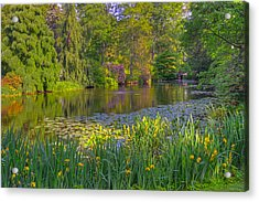 Spring Morning At Mount Auburn Cemetery Acrylic Print