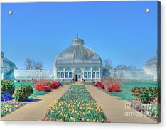 Spring At The Gardens Acrylic Print by Kathleen Struckle