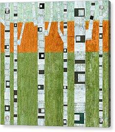 Spring Birches Acrylic Print