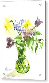 Spring Bouquet IIi Acrylic Print by Kip DeVore