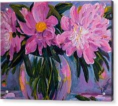 Spring Bursting Acrylic Print