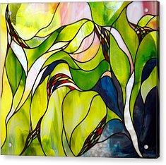 Spring Acrylic Print by Christine Alexander