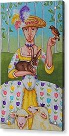 Spring Colonial Acrylic Print