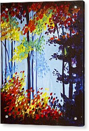 Spring Colors  Acrylic Print
