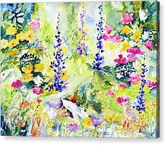 Spring Colour Acrylic Print