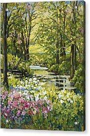 Spring Creek Rockford Il Acrylic Print