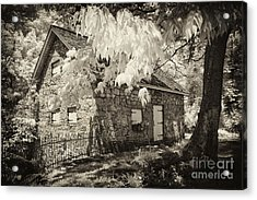 Spring Creek Mill Acrylic Print by Paul W Faust -  Impressions of Light