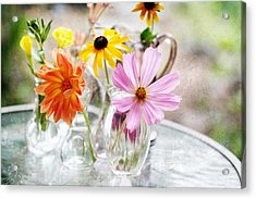 Spring Delights Acrylic Print by Bonnie Bruno