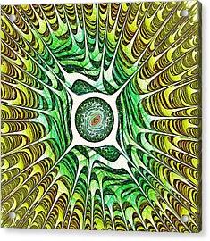 Spring Dragon Eye Acrylic Print by Anastasiya Malakhova