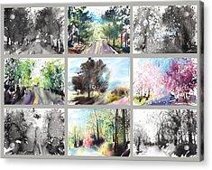Spring Drive Acrylic Print by Sumiyo Toribe