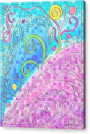 Spring Equinox Acrylic Print by Shawna Rowe