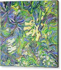 Spring Exuberance 2 Acrylic Print by Zofia  Kijak