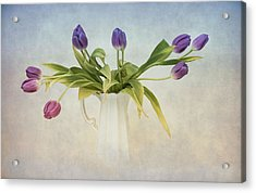 Spring Fling Acrylic Print by Robin-Lee Vieira