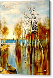 Spring Flood Acrylic Print
