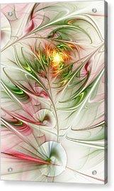 Spring Flower Acrylic Print by Anastasiya Malakhova