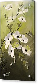 Spring Flowers Acrylic Print by Dorothy Maier