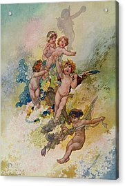 Spring From The Seasons Commissioned For The 1920 Pears Annual Acrylic Print
