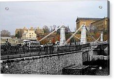 Spring Garden Street Bridge 1876 Acrylic Print
