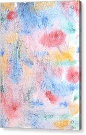 Spring Garden Acrylic Print by Susan  Dimitrakopoulos