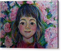 Spring Girls. Part One Acrylic Print by Anna  Duyunova