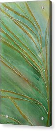 Acrylic Print featuring the painting Spring Grasses by Susan Crossman Buscho