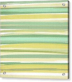 Spring Green Acrylic Print by Lourry Legarde