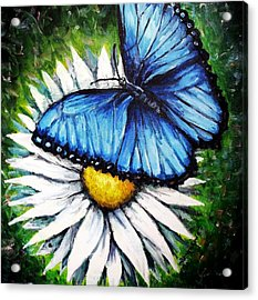 Acrylic Print featuring the painting Spring Has Sprung by Shana Rowe Jackson