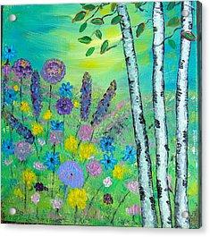 Spring Hillside Acrylic Print