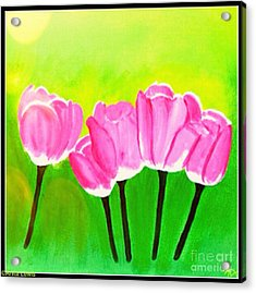 Spring I Acrylic Print