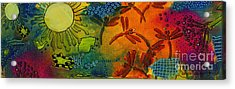 Spring In Full Effect Acrylic Print by Angela L Walker