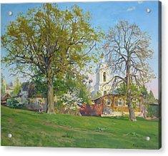 Spring In Kaluga Acrylic Print