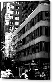 Spring In Manhattan Acrylic Print by James Aiken