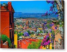 Spring In San Miguel De Allende Acrylic Print