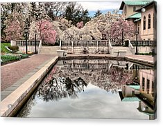 Spring In The Garden Acrylic Print by JC Findley