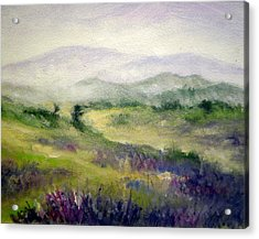 Mountain Spring Iv Acrylic Print by Mary Taglieri