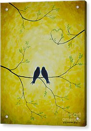 Spring Is A Time Of Love Acrylic Print by Veikko Suikkanen