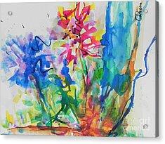 Spring Is In The Air Acrylic Print by Chrisann Ellis