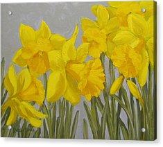 Spring Acrylic Print by Karen Ilari