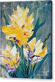 Spring Love Acrylic Print by Teresa Wegrzyn