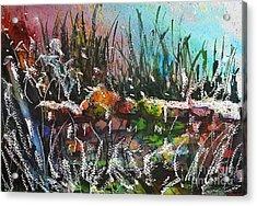 Spring Meltdown Acrylic Print