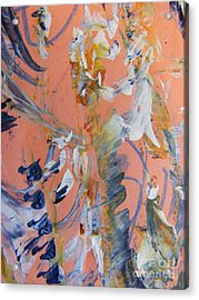 Acrylic Print featuring the painting Spring by Nancy Kane Chapman