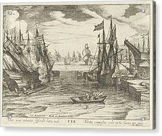 Spring, Robert De Baudous Acrylic Print by Robert De Baudous And Nicolaas Jansz. Van Wassenaar