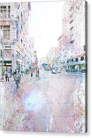 Spring Street Los Angeles Acrylic Print
