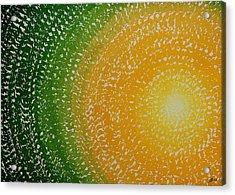 Spring Sun Original Painting Acrylic Print