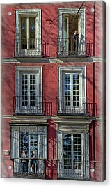 Spring Sunshine In Madrid Acrylic Print