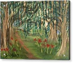 Spring Trail Acrylic Print