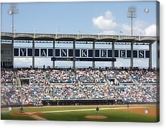 Spring Training Acrylic Print by Michael Albright