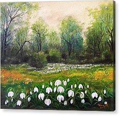 Spring Acrylic Print by Vesna Martinjak