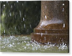 Acrylic Print featuring the photograph Spring Water Fountain by Colleen Williams