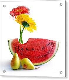 Spring Watermelon Acrylic Print